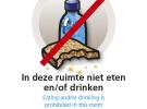 HvA poster niet eten