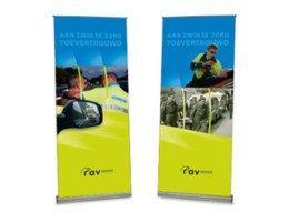 banier of roll up banner ontwerp door Dickhoff Design
