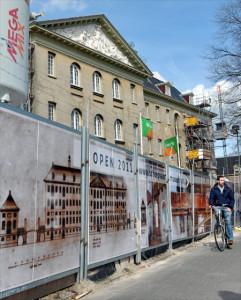 Scheepvaartmuseumbouwhek