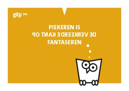 GITP-PAO, ansichtkaart, Minerva, fantaseren