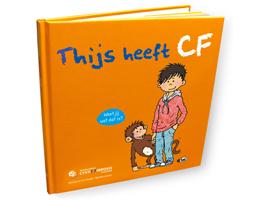 Boek Thijs heeft CF