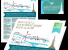 flyer en routekaartje ontwerp door Dickhoff Design