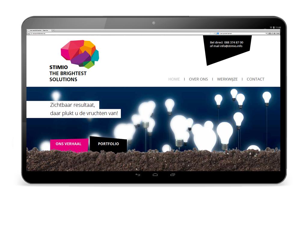 Website ontwerp Stimio