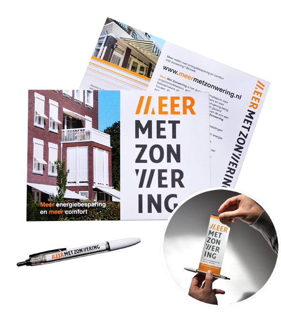 banner pen en flyer ontwerp door Dickhoff Design