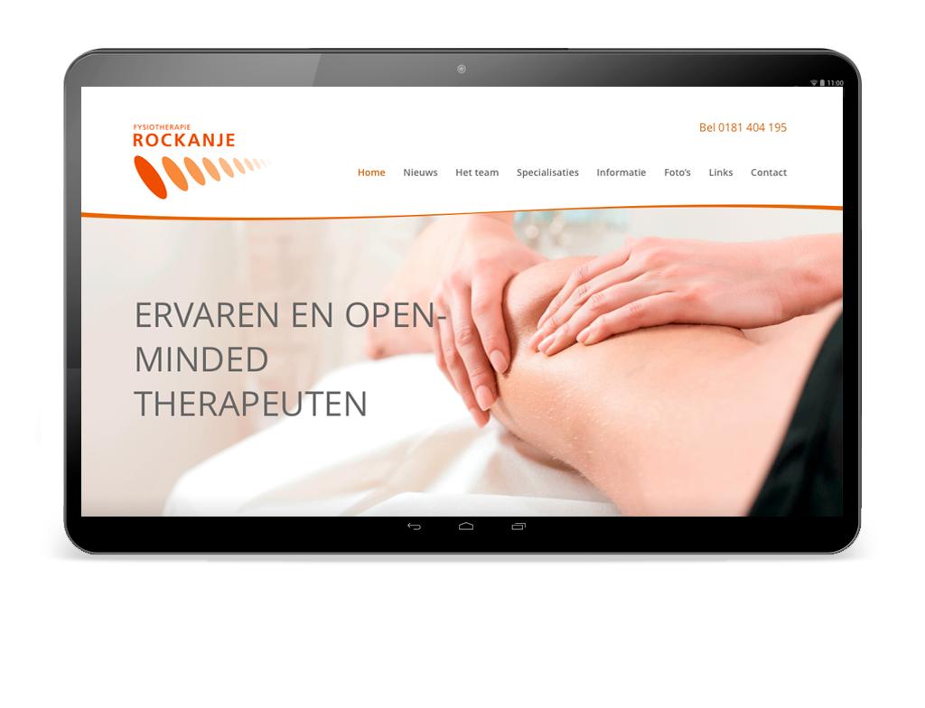 ontwerp website Fysio