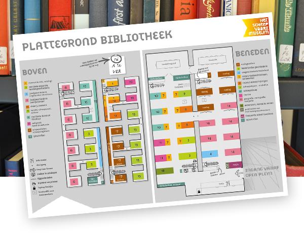 Ontwerp plattegrond bibliotheek dickhoff design for Ontwerp plattegrond
