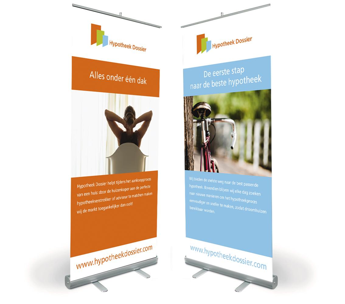 banier of roll-up banner ontwerp door Dickhoff Design