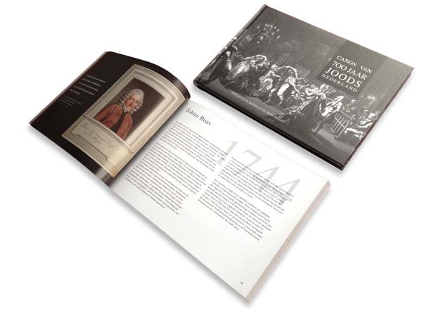 Ontwerp hardcover en softcover, Canon 700 jaar Joods Nederland