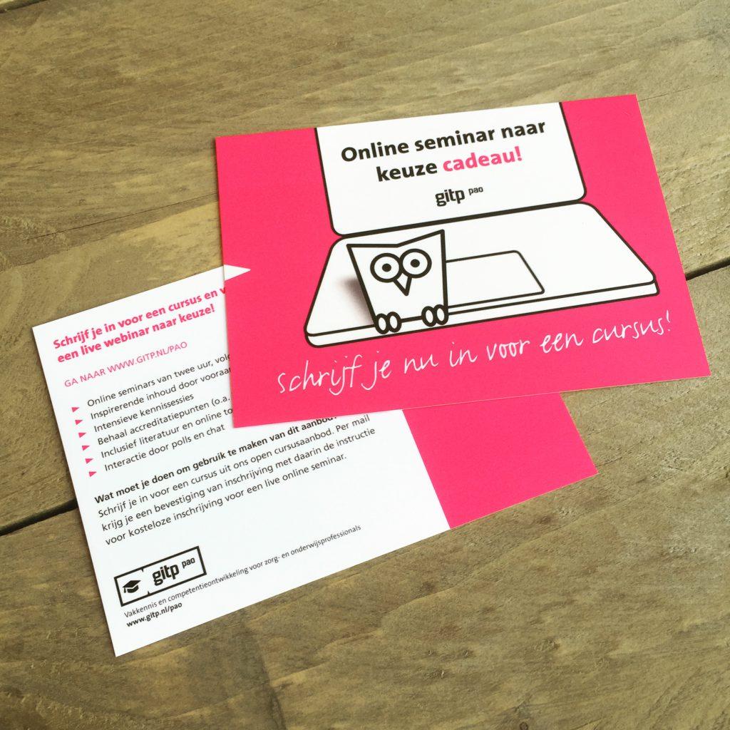 Free card ontwerp door Dickhoff Design