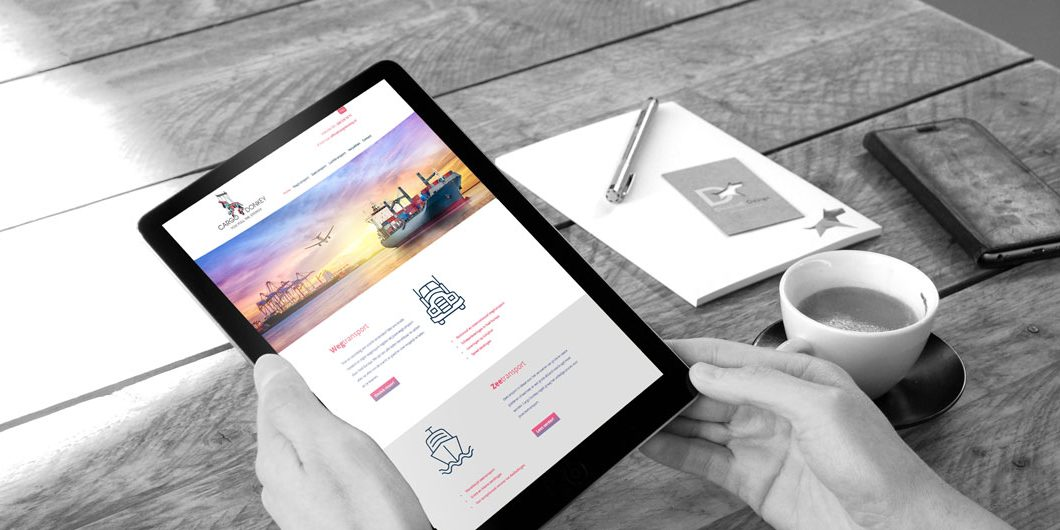 responsive website ontwerp door Dickhoff Design in Amsterdam