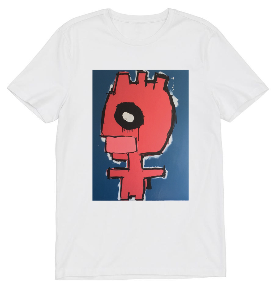 art print t-shirt by Julien Kwaaitaal, artist, contemporary painter based in Amsterdam