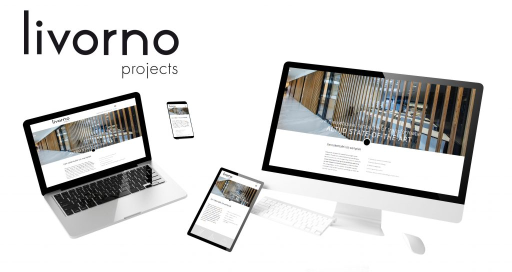 Webdesign Livorno ontwerp door Dickhoff Design in Amsterdam