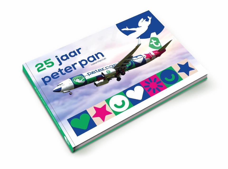 Boek laten ontwerpen door Dickhoff Design, Peter Pan Vakantieclub