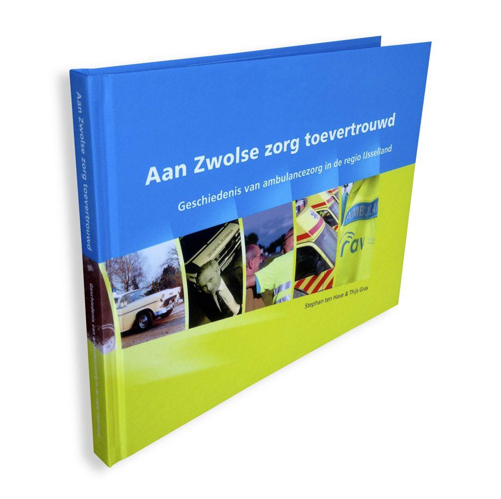 Cover boek laten ontwerpen door Dickhoff Design
