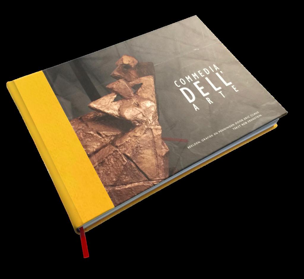 Boek ontwerp Eric Claus Dickhoff Design