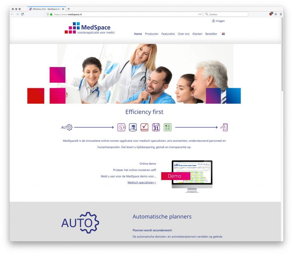 app online met duidelijke vormgeving