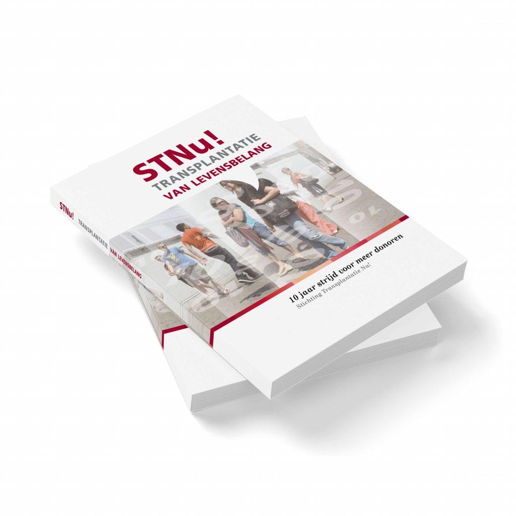 voorbeeld van een jubileumboek voor STNUSTNU