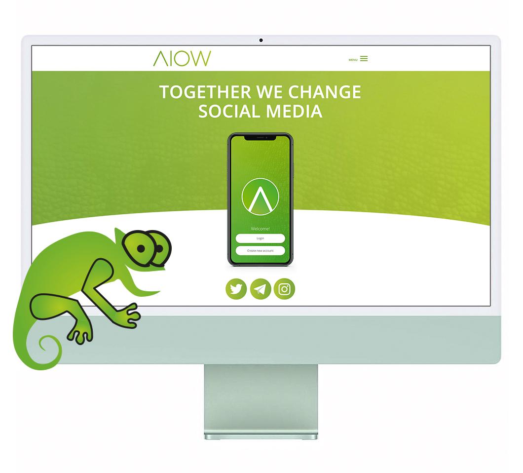 Webdesign, website ontwerp door Dickhoff Design Amsterdam